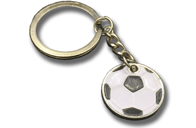 custom collar pin keychain